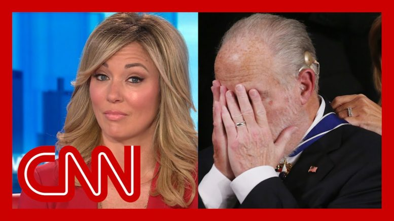 Brooke Baldwin reacts to Trump honoring Rush Limbaugh 1