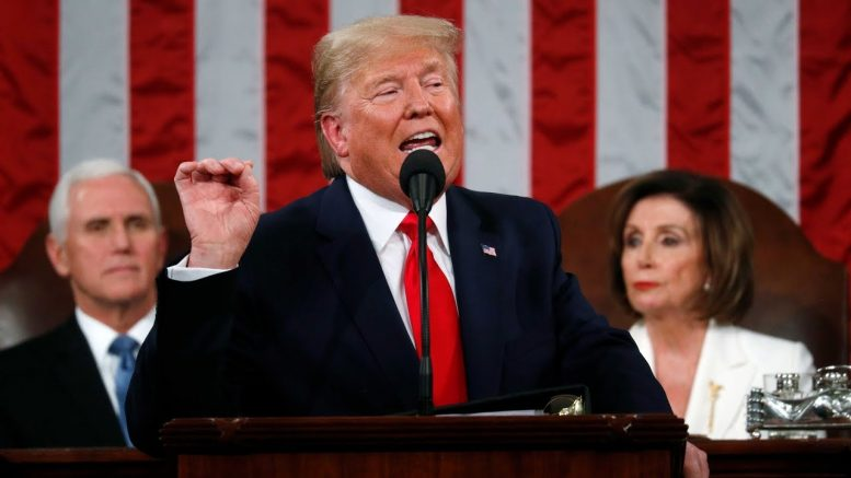 Watch Donald Trump's full State of the Union address 1