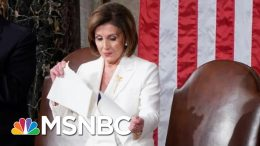 Day 1,111: As Iowa Counts, Pelosi Tears Up Trump's State Of The Union Speech | The 11th Hour | MSNBC 8