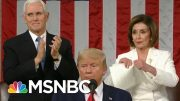 Trump's Wild State Of The Union Underscores Capitol Hill's Deep Divisions | The 11th Hour | MSNBC 5