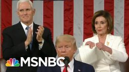 Trump's Wild State Of The Union Underscores Capitol Hill's Deep Divisions | The 11th Hour | MSNBC 6