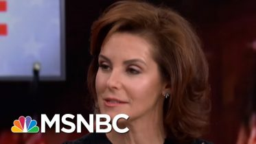 Steph Ruhle Fact Checks Trump State Of The Union On The Economy   The 11th Hour   MSNBC 10