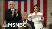 Mika: Nancy Pelosi Showed Visually She Was Fed Up With Trump's Lies | Morning Joe | MSNBC 4