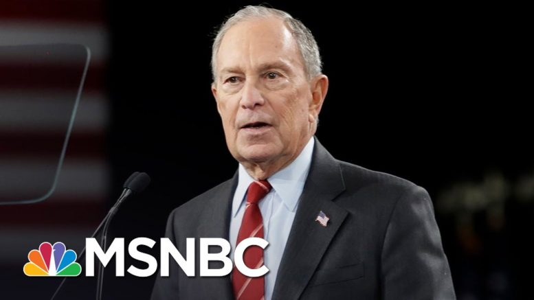 New DNC Debate Rules Open Door For Bloomberg To Make Stage   MSNBC 1