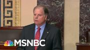 'Our Country Deserves Better Than This': Doug Jones Announces He Will Vote To Convict | MSNBC 4