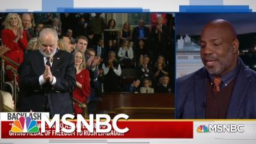 'Nauseating': Trump Blasted For Giving Rush Limbaugh The Medal Of Freedom   MSNBC 6