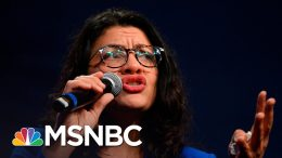 Rep. Tlaib Boos Hillary Clinton At Sanders Rally, Says Feelings 'Got The Best Of Me' | MSNBC 4