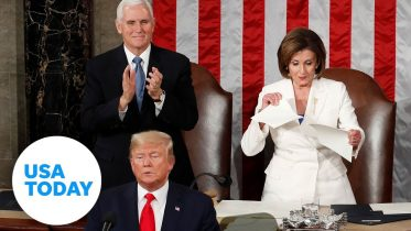 5 surprising State of the Union moments, including Trump's handshake snub | USA TODAY 6