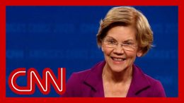 Warren's answer about male candidates' odds draws laughter 4