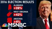 Vulnerable Senate Democrats Cast Tough Guilty Vote Against Trump | The 11th Hour | MSNBC 3