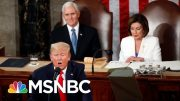 Team Trump Blasts Romney As a 'Coward' For Historic Impeachment Vote | The 11th Hour | MSNBC 4