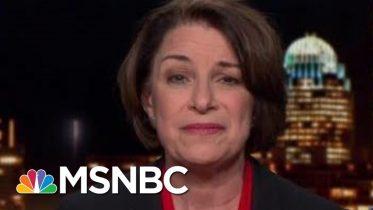 Sen. Amy Klobuchar: 'It's Still Gonna Be A Close Senate'   The Last Word   MSNBC 6