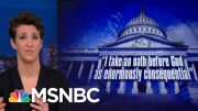 Bill Barr Makes Himself Gatekeeper Of Investigations Of Campaigns | Rachel Maddow | MSNBC 3