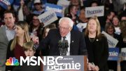 Bernie Sanders Raises $25M In January | Morning Joe | MSNBC 3