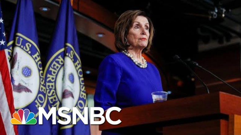 Nancy Pelosi: Trump's Comments At National Prayer Breakfast Were 'So Inappropriate' | MSNBC 1