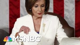 Nancy Pelosi: After Trump Shredded The Constitution, I Shredded His State Of His Mind | MSNBC 9