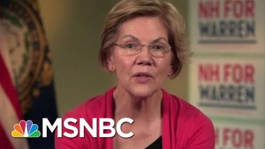 Elizabeth Warren Responds To Claims Of Tokenism Coming From Her Campaign | All In | MSNBC 6
