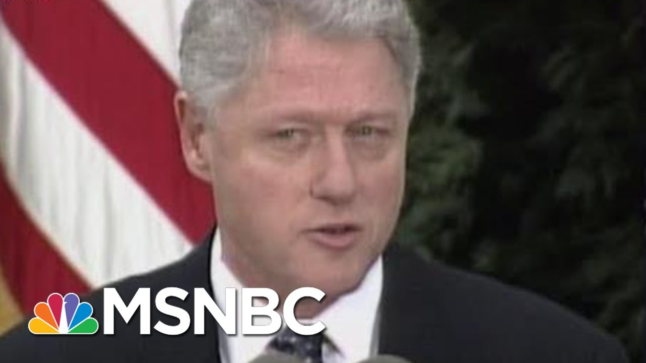 Humility vs. Hubris: Clinton, Trump In Their Own Words Post-Impeachment | Morning Joe | MSNBC 1