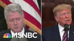 Clinton Apologized For Impeachment, President Donald Trump Lashed Out | Velshi & Ruhle | MSNBC 5
