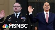 President Payback: Trump Fires Ukraine Witnesses Vindman And Sondland | The 11th Hour | MSNBC 5