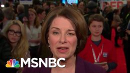 Klobuchar On Buttigieg's Lack Of Experience: We Need A Leader That Brings Receipts | All In | MSNBC 8