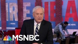 Chris Matthews Calls New Hampshire Primary 'A Snowfight' Between Buttigieg, Sanders | All In | MSNBC 8