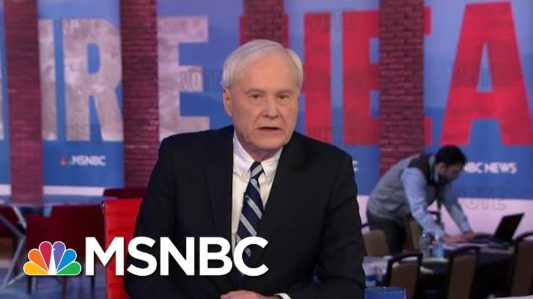 Chris Matthews Calls New Hampshire Primary 'A Snowfight' Between Buttigieg, Sanders | All In | MSNBC 1