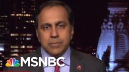 Rep. Krishnamoorthi: Senators Helped Enable Trump To Fire Vindman, Sondland | The Last Word | MSNBC 4