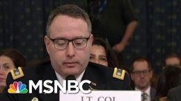 Friday Night Massacre: Trump Fires Two Impeachment Witnesses | The Last Word | MSNBC 9