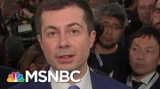 Pete Buttigieg On Amy Klobuchar's Criticism Of His Lack Of Experience | All In | MSNBC 3