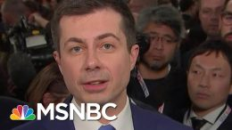 Pete Buttigieg On Amy Klobuchar's Criticism Of His Lack Of Experience | All In | MSNBC 9