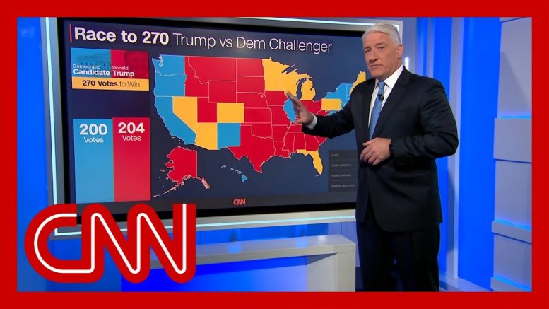 John King: Trump enjoying a significant uptick in his political standing 1