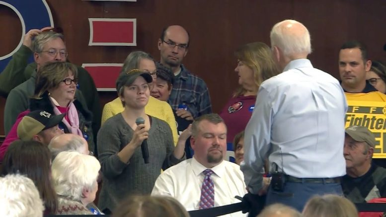 Joe Biden calls woman a 'lying dog-faced pony soldier' at event 1