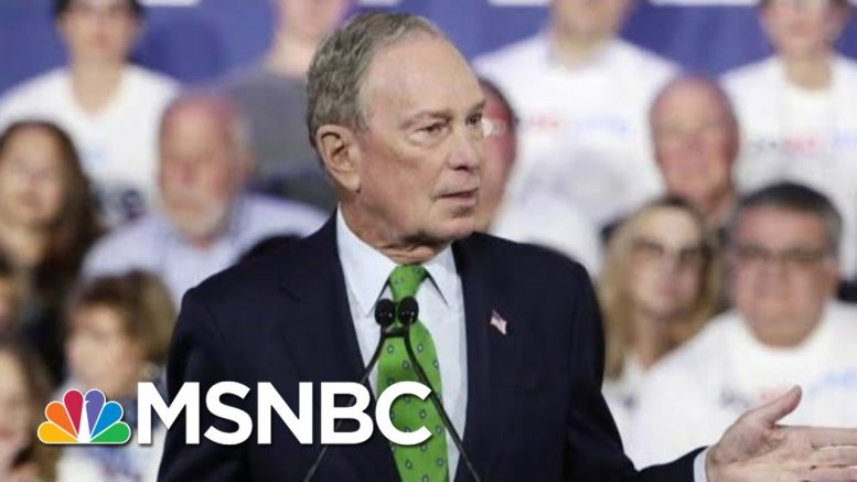 Michael Bloomberg Calls For Bringing Presidential Back   Morning Joe   MSNBC 1