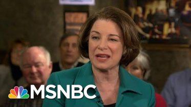 Amy Klobuchar: I Am A Fresh New Face In Politics   Morning Joe   MSNBC 2