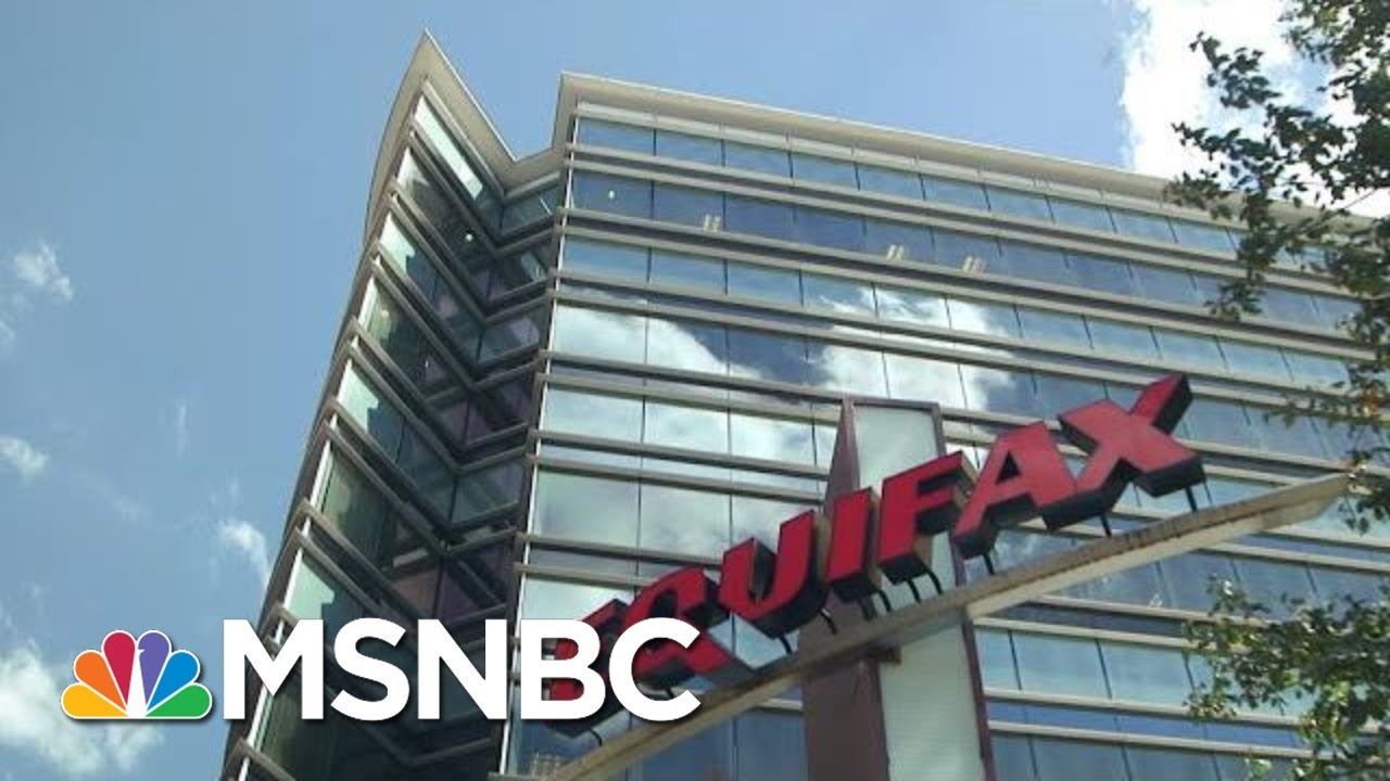 Chinese Hackers Used Equifax's Online Dispute Portal To Steal Personal Info | Hallie Jackson | MSNBC 9