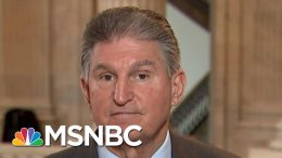 Sen. Joe Manchin Jabs Back At POTUS After Being Called 'Munchkin' | Hallie Jackson | MSNBC 5