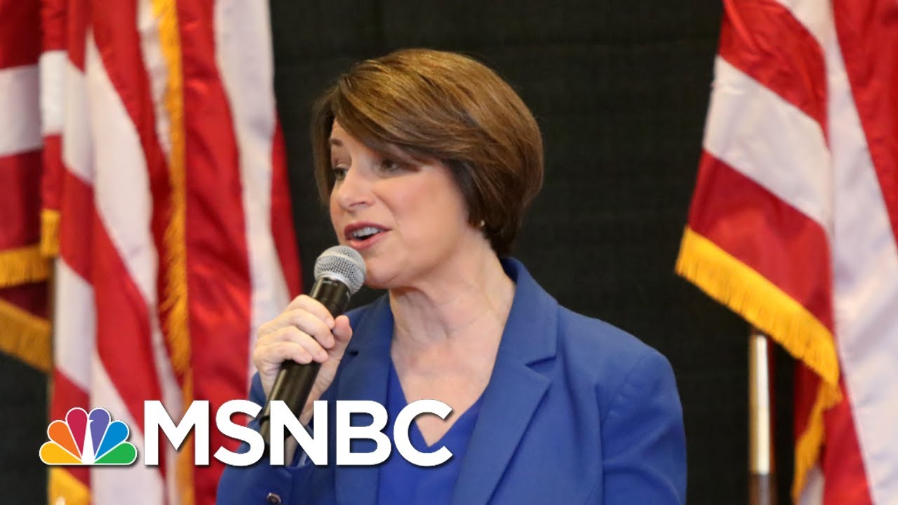 Amy Klobuchar: 'I Am Able To Lead Our Country. That's My Closing Argument' | Andrea Mitchell | MSNBC 1