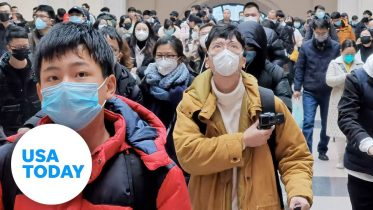 Coronavirus outbreak: City of Wuhan recorded by American teacher | USA TODAY 1