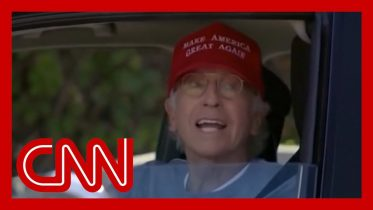 Trump tweets clip of Larry David in MAGA hat. Here's the part he might have missed 10