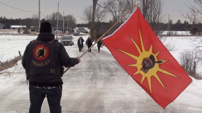 Demonstrations across Canada in a show of solidarity for the Wet'suwet'en Nation 1