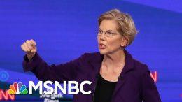 Elizabeth Warren Urges Putting Party First: 'We Gotta Beat Donald Trump' | The Last Word | MSNBC 7
