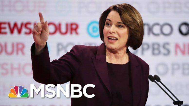 Sen. Amy Klobuchar's Last Word To NH Voters: 'You Have A Home With Me' | The Last Word | MSNBC 1