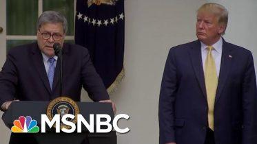 Freed By Senate GOP, Trump Appears To Formalize Ukraine Scheme Through Barr | Rachel Maddow | MSNBC 10