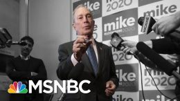 Skipping Iowa And New Hampshire, Bloomberg Builds A National Political Army | The 11th Hour | MSNBC 1