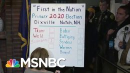 Klobuchar Tops Dems As Three Tiny NH Towns Start Primary With Midnight Votes | The 11th Hour | MSNBC 6