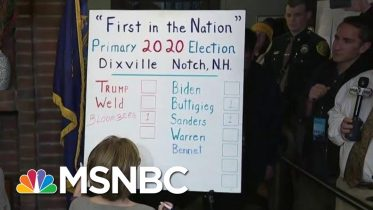 Klobuchar Tops Dems As Three Tiny NH Towns Start Primary With Midnight Votes | The 11th Hour | MSNBC 10
