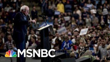 Sen. Bernie Sanders Captures Enthusiasm, Electricity Of NH | Morning Joe | MSNBC 5