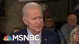 Joe Biden: I Think I'm An Underdog In New Hampshire | Morning Joe | MSNBC 1