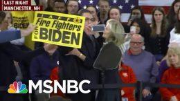 Joe Biden Reacts To Wife Fending Off Heckler: 'I Married Way Up'   Morning Joe   MSNBC 1